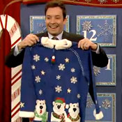 Jimmy Fallon's 12 Days of Ugly Christmas Sweaters