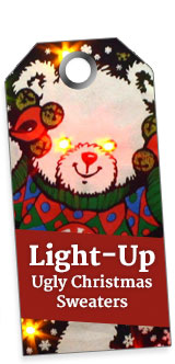 Lightup Ugly Christmas Sweaters