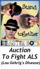 Beastie Boys ALS Auction