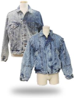 Acid Washed Jackets & Coats