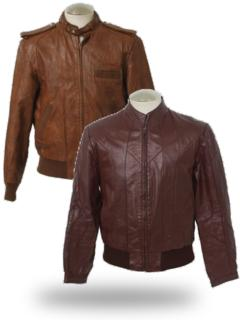 Totally 80s Leather Jackets