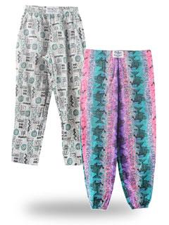 Print Baggy Pants