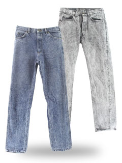 Acid Washed Jeans