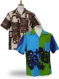 Barkcloth Hawaiian Shirts