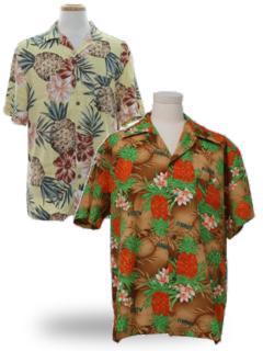 Pineapple Hawaiian Shirts