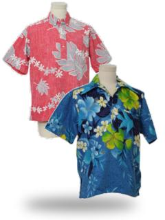 Pullover Hawaiian Shirts