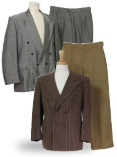 Peaked Lapel Suits