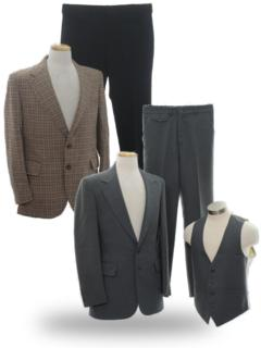 Wide Lapel Suits