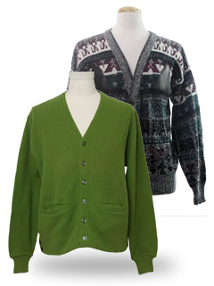Mens Vintage Sweaters at RustyZipper.Com Vintage Clothing