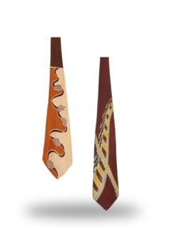 Abstract Neckties