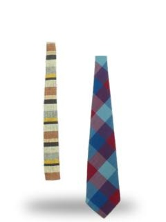 Cotton neckties