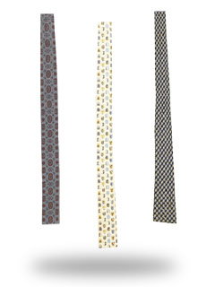 Flat Bottom Neckties