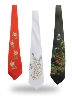 Handpainted Neckties