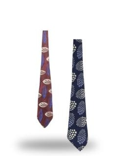 Stitched Neckties