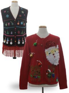 Hand Embellished Ugly Christmas Sweaters