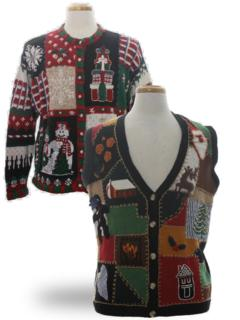 Ugly Christmas Country Kitsch Sweaters