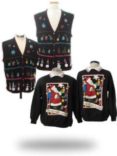Ugly Christmas Sweaters (Matching)