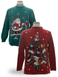 Mens Vintage Ugly Christmas Sweaters At Rustyzipper Com