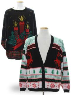 Vintage Ugly Christmas Sweaters