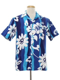Coin Button Hawaiian Shirts