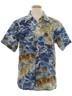 Palm Tree Print Hawaiian Shirts