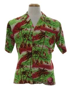 Rayon Hawaiian Shirts
