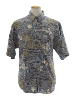 Reverse Print Hawaiian Shirts