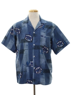 Sateen Hawaiian Shirts