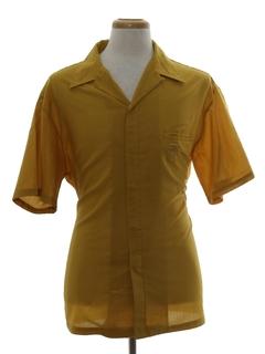 Tiki Print Hawaiian Shirts