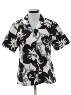 Sateen Hawaiian Shirts