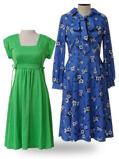Vintage 1970 S Dresses At Rustyzipper Com Vintage Clothing