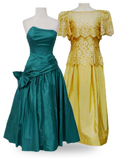 Vintage Prom Dresses 50s 80s Rustyzippercom Shop Over 300