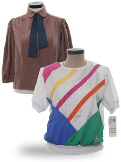 Totally 80s Blouses