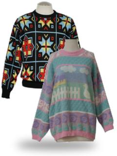 Women S Sweaters At Rustyzipper Com 1980s Vintage Clothing