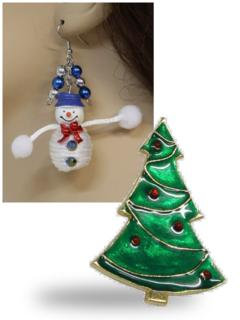Ugly Christmas Jewelry