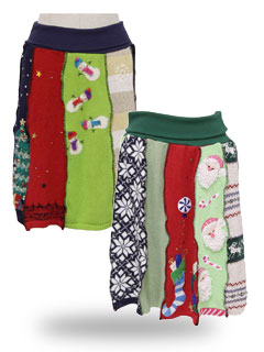 Ugly Christmas Sweaters (Skirts)