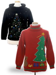 Ugly Christmas Sweaters (Turtlenecks)