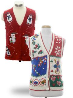 Ugly Christmas Sweaters (Vests)