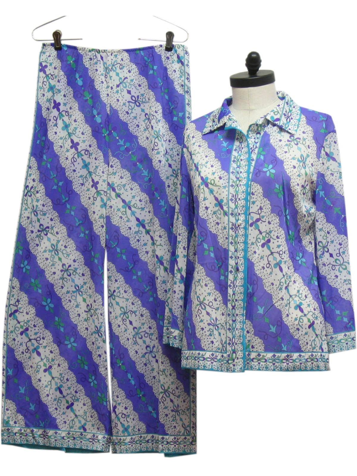 9a6456d48167 1960 s Womens Lingerie - Pajama Set   60s -Emilio Pucci