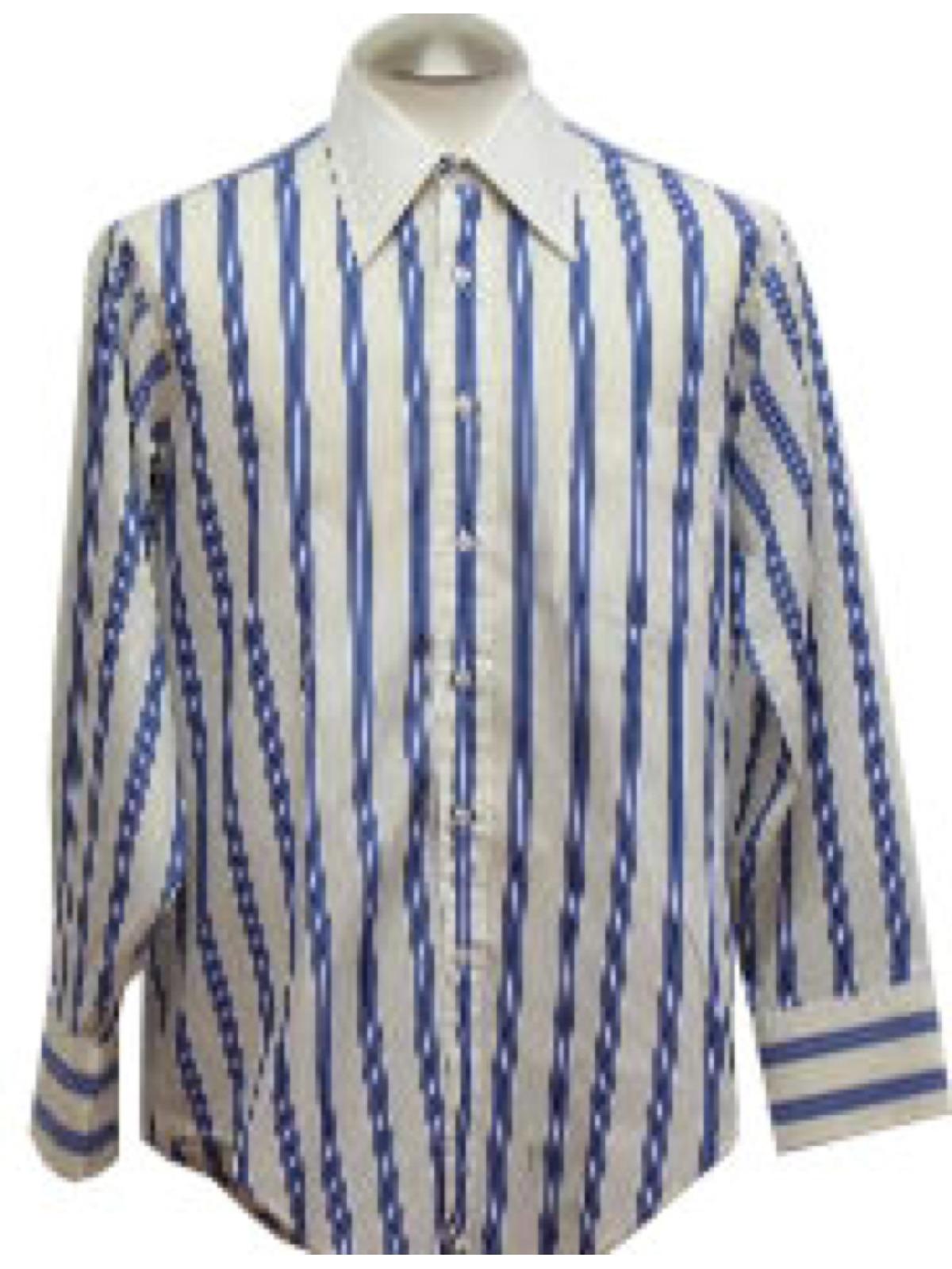1970s Vintage Arrow The White Collar Man Shirt Early 70s Arrow