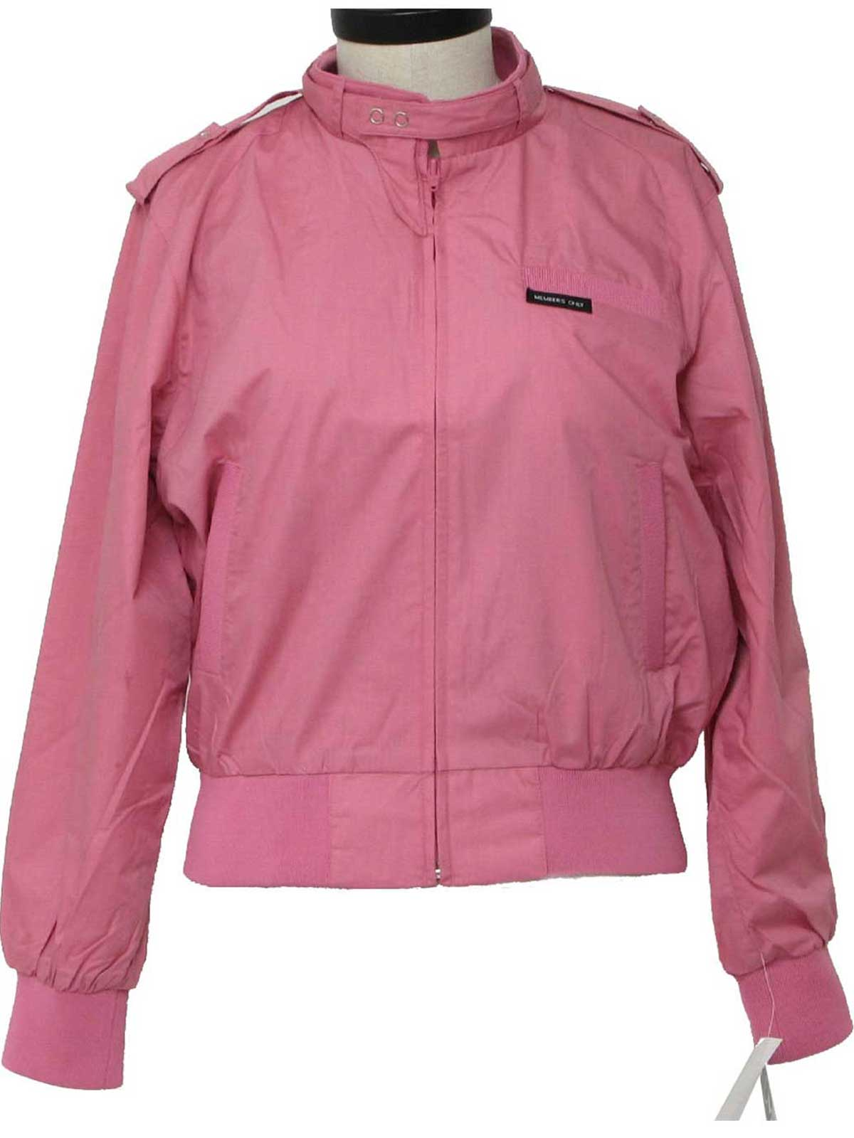 80s Jacket (Members Only): 80s -Members Only- Womens pink ...