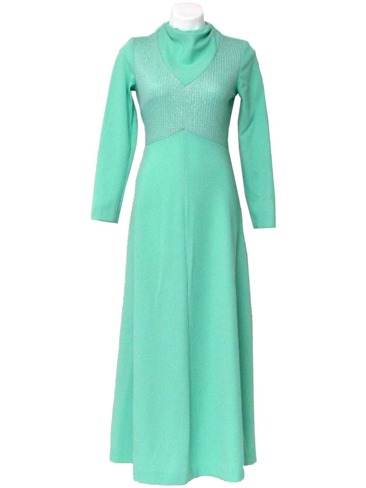 Retro 1970 S Dress Montgomery Ward C 1972 Montgomery