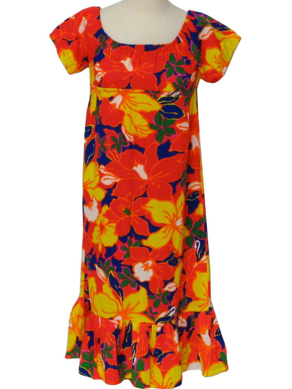 cb40fff4f259 Seventies Vintage Hawaiian Dress  70s -Pomare- Womens or girls ...