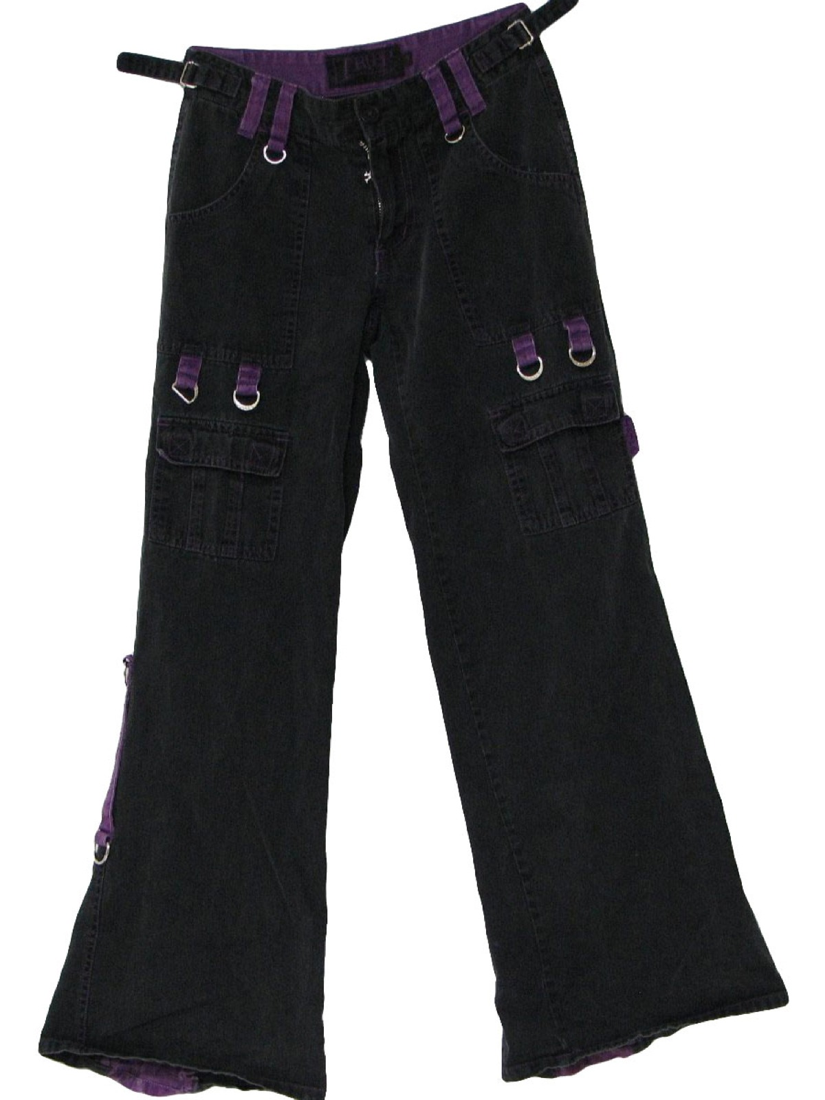 Elegant Retro 199039s Pants Tripp  90sTripp Womens Faded Black And Cheetah