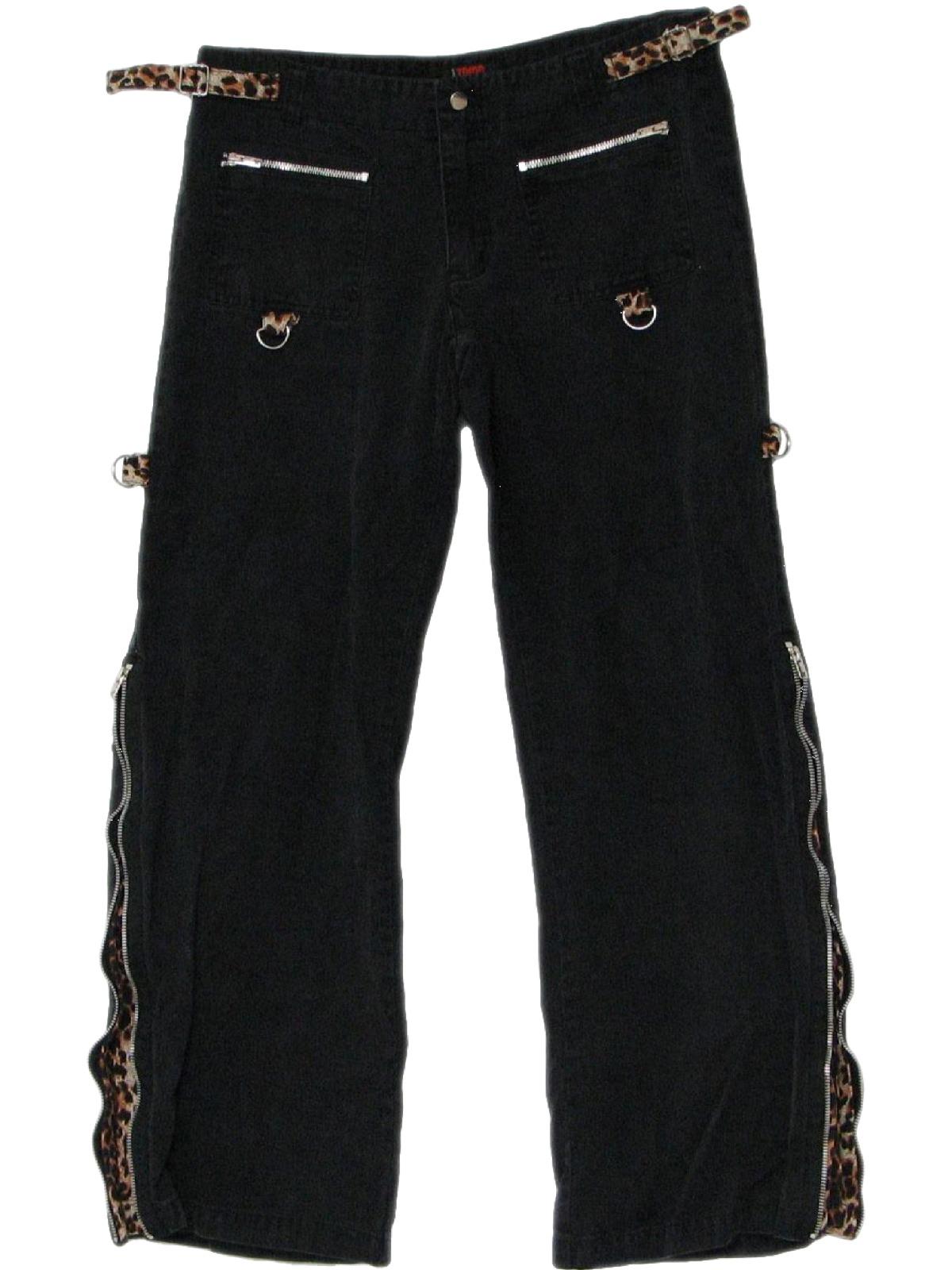 Elegant TRIPP NYC BONDAGE GOTHIC PUNK EMO GOTH BLACK PANTS AF267  EBay