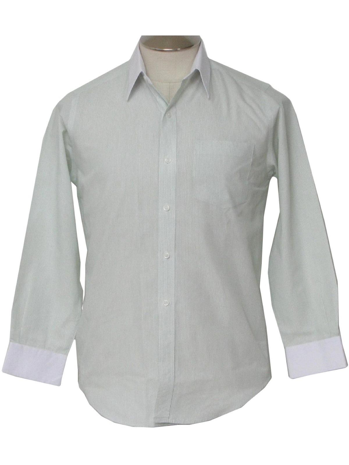 18210274bcb Nineties Vintage Shirt  90s -Ravi- Mens green