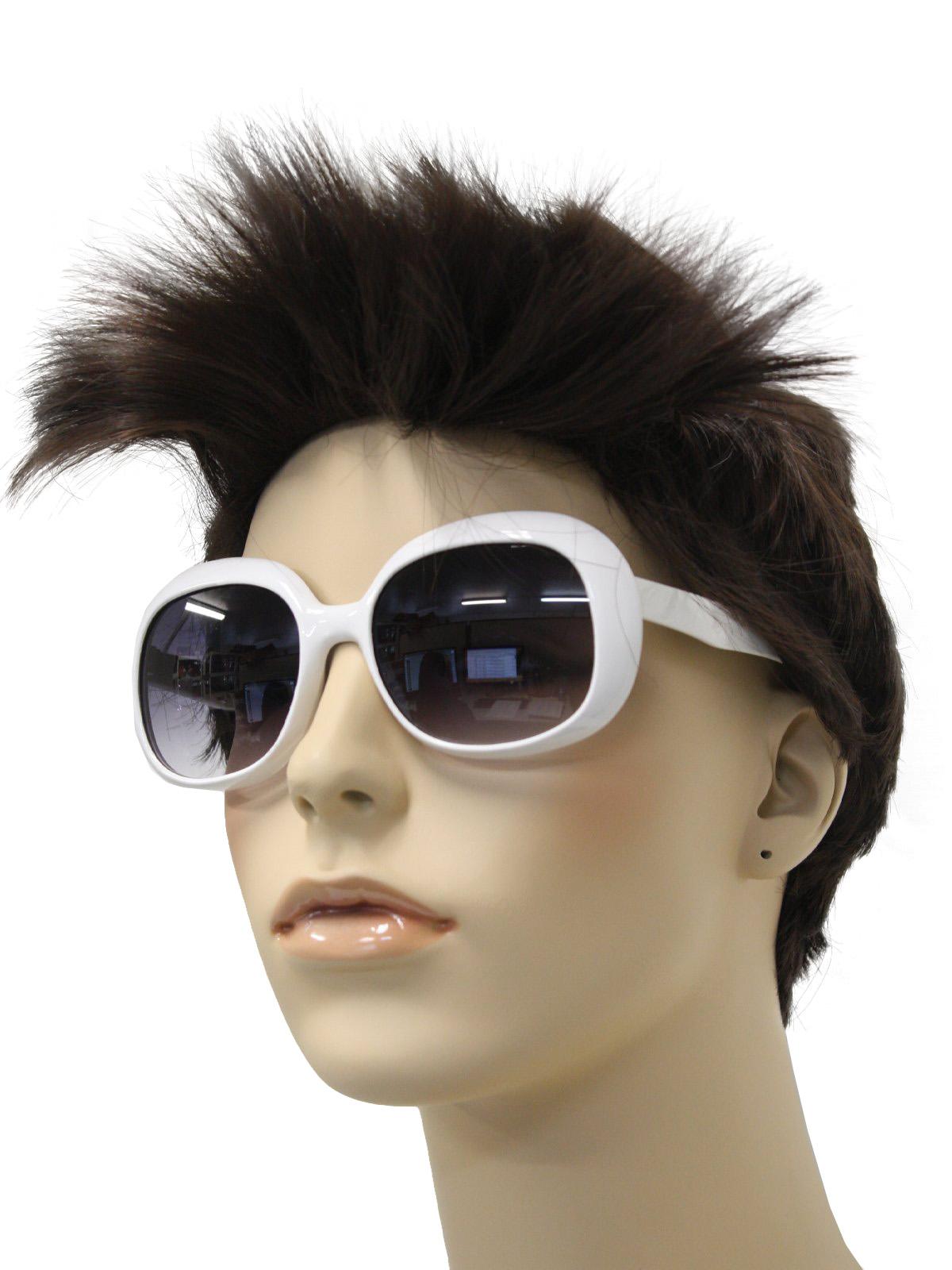 Vintage 60s Glasses 60s Style Mod White Sunglasses