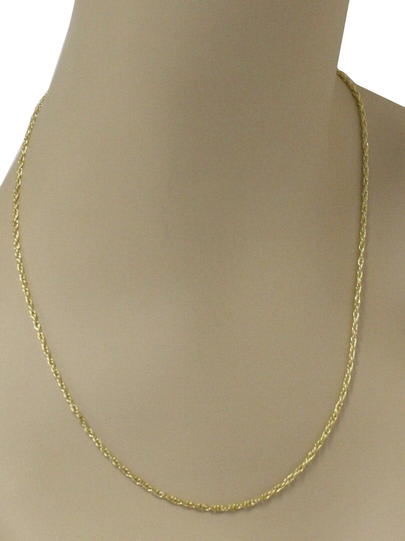 1970 S Retro Necklace 70s Style Made Recently Mens 14k Gold
