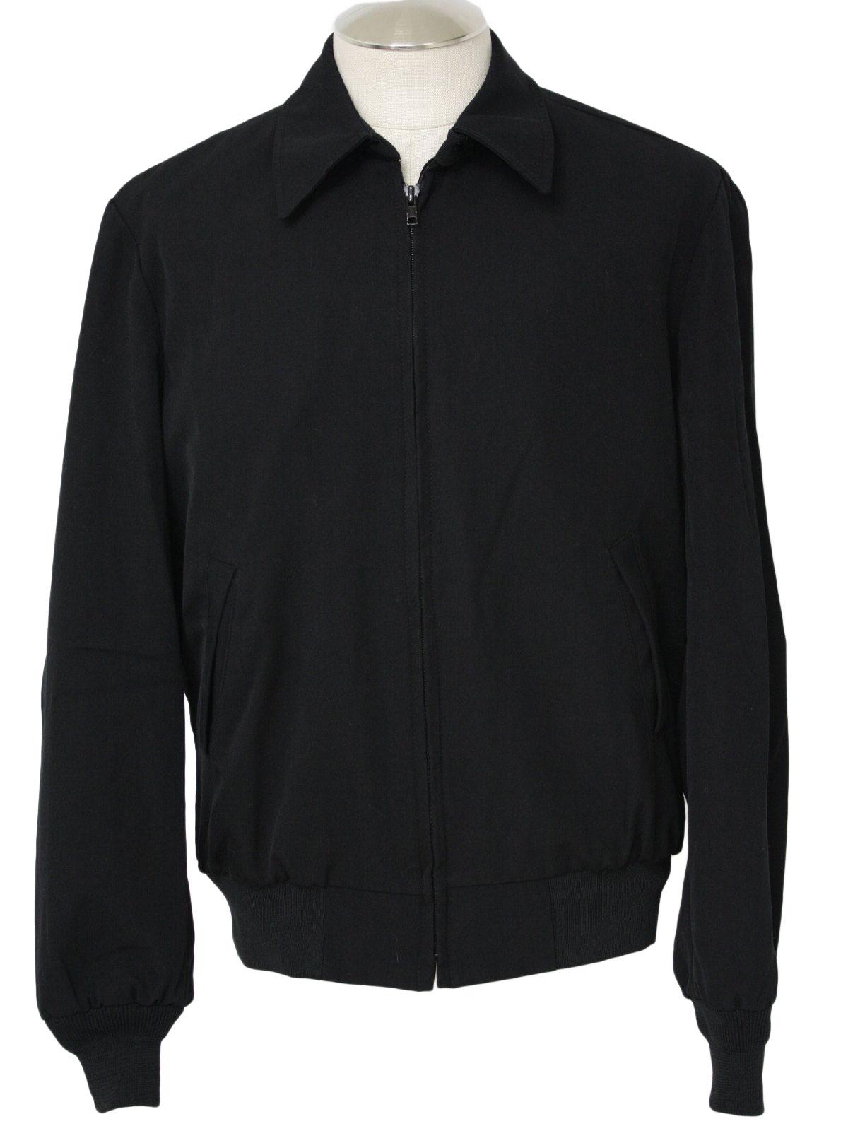 Retro 80 S Jacket 80s Neptune Garment Co Mens Black