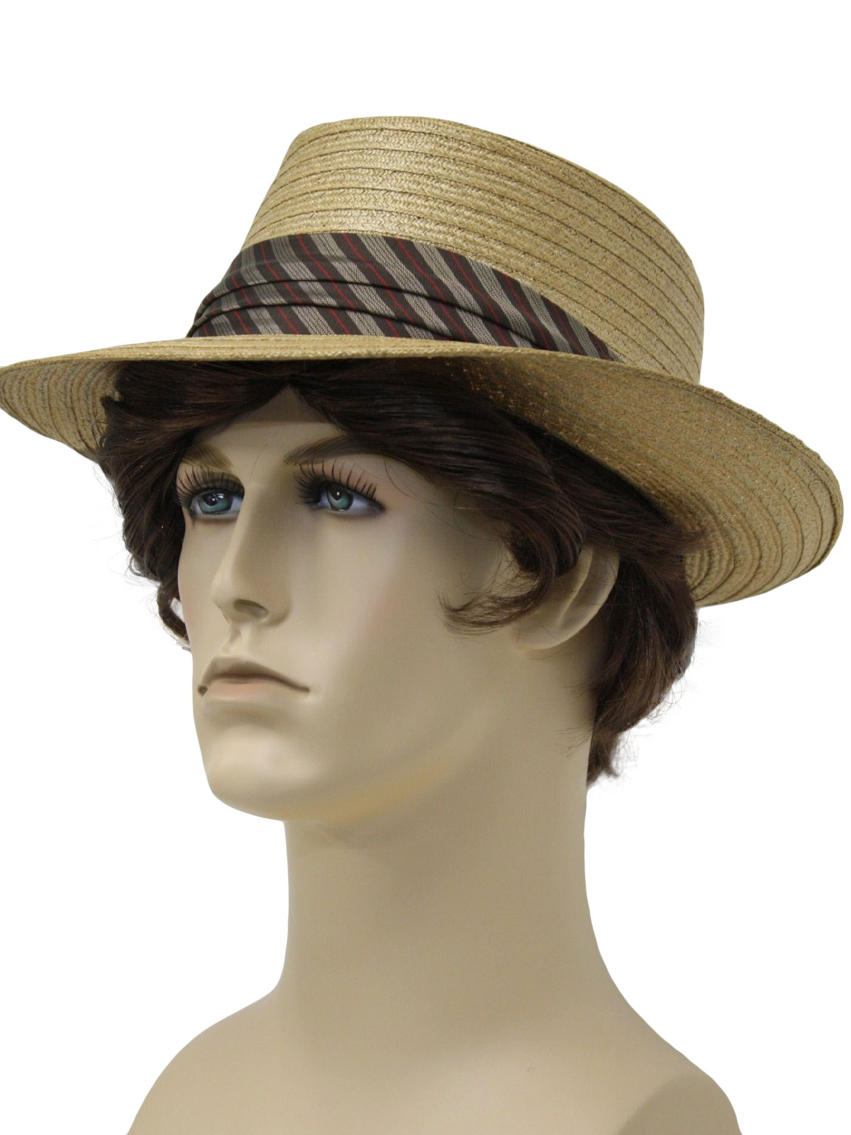 Black Straw Hat Straw Hat With Black